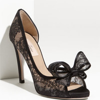 Valentino Lace Couture Bow d'Orsay Pump | Nordstrom