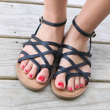 Chinese Laundry Gia Vegetable Leather Sandals