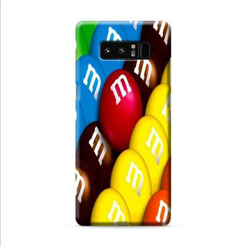 M&M's Colorful Candies Samsung Galaxy Note 8 case