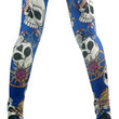 Blue Skulls and Jewelry Leggings