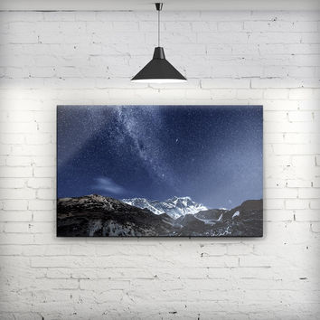 Starry Mountaintop - Fine-Art Wall Canvas Prints