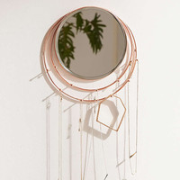 Wall-Mounted Lapsis Mirror and Jewellery Storage - Urban Outfitters