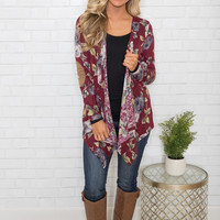 What's In A Name Floral Cardigan CLEARANCE