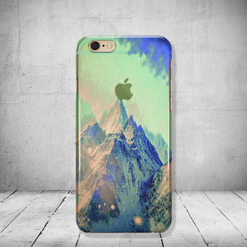 iPhone 6 Case Mountains Clear iPhone 6s Case Sky Clear iPhone 6 Case iPhone 5 SE Case iPhone 6s Plus Case Soft Silicone iPhone Case No: 98