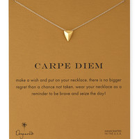 Gold-Dipped Carpe Diem Necklace - Dogeared