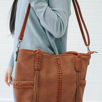 Nash Bag - Camel