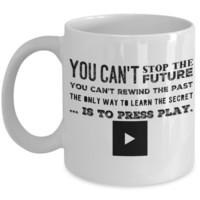13 Reasons Why Mug - Press Play - 11 oz Gift Mug