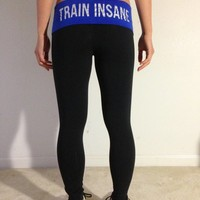 oGorgeous Gym Boutique - TRAIN INSANE Yoga Leggings