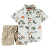 2-Piece Shirt & Short Set