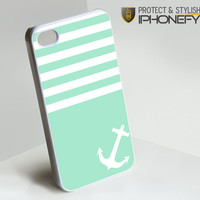 Blue Tiffany Anchor iPhone 4[S] Case|iPhonefy