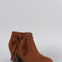 Dollhouse Braided Fringe Bootie