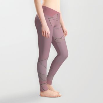 Shapes Shifted Leggings by Ducky B