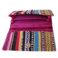 Hill Tribe Wallet Purse Hmong Wallet Hippie Wallet Thai Wallet  Boho Wallet  #WP1
