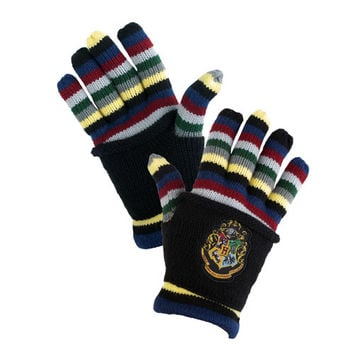 Hogwarts™ Striped Gloves | Universal Orlando™
