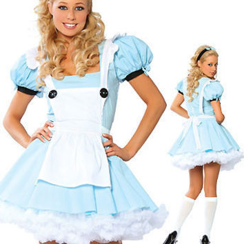 Maid Cosplay Anime Cosplay Apparel Holloween Costume [9211524100]