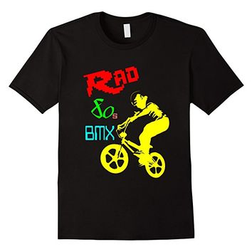 T-Shirt Men Women Kids Rad 80s BMX