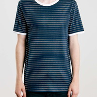 Navy And White Stripe T-Shirt - New This Week - New In