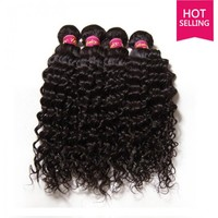 UNice Peruvian Deep Wave Hair Weft Human Hair Extensions