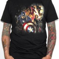 Avengers Age Of Ultron T-Shirt - In Action