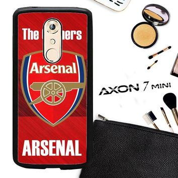 Arsenal Logo Walpaper X3187 ZTE AXON 7 Mini Case