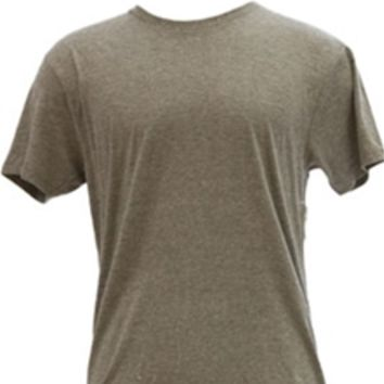 1897 Crew Neck Tri-blend T-Shirt For Men in Vintage Heather Grey CREW-