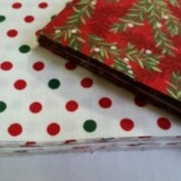 "40 - Christmas Fabrics 5"" Charm Packs from Be Jolly by Deb Strain for Moda"