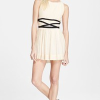Women's Band of Outsiders Pleated Minidress