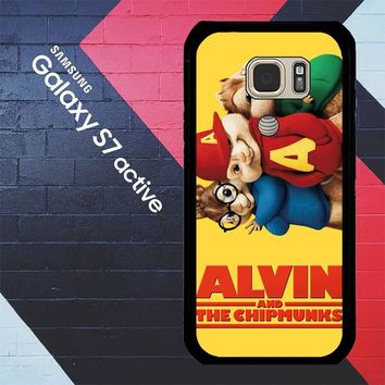 Alvin And The Chipmunks F0267 Samsung Galaxy S7 Active Case