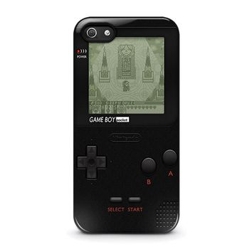 nintendo game boy 3 iphone 5 5s se case cover  number 1