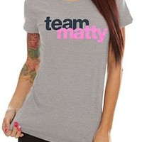 Awkward. Team Matty Girls T-Shirt - 300196