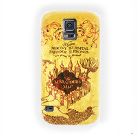 Harry Potter Old marauder's map For Samsung Galaxy S5 Case