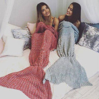 Deal Handcrafts Sofa Mermaid Blanket Gift