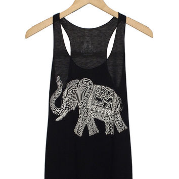 Elephant Graphic Tank