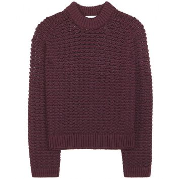 3.1 phillip lim - wool and cotton-blend sweater