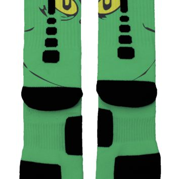 The Grinch Who Stole Christmas Custom Nike Elite Socks
