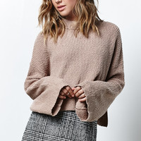 Honey Punch Cropped Turtleneck Sweater at PacSun.com