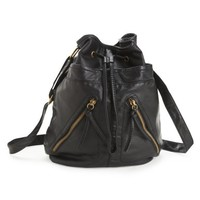 Zipper Bucket Bag