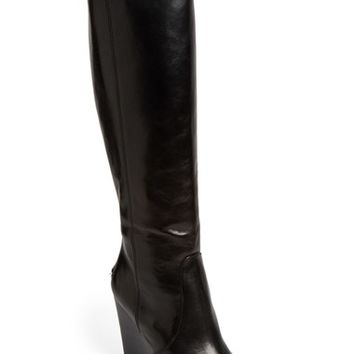 COACH 'Della' Knee-High Wedge Boot (Women) | Nordstrom