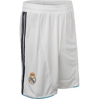 adidas Real Madrid White Soccer Home Replica Shorts