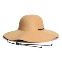 H&M Felted Floppy Hat $24.99