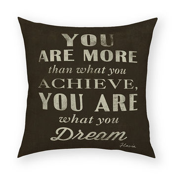 What You Dream Throw Pillow