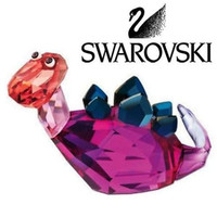 Swarovski Colored Crystal Figurine Lovlots Dinosaur - Stephanie #1143452 New