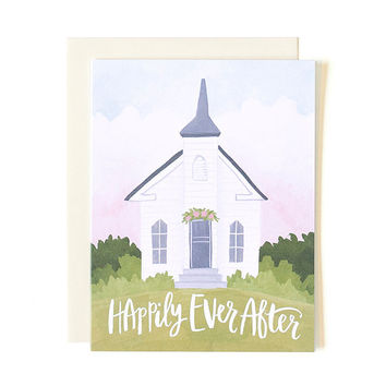 Wedding Chapel Card