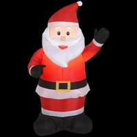 SheilaShrubs.com: Inflatable Santa 87644 by Gemmy Industries: Christmas Outdoor Decor