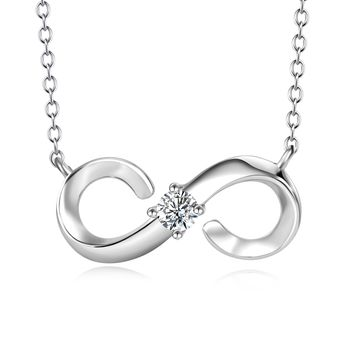 Infinite Pendent 925 Sterling Silver Nacklace