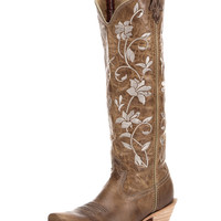 Women's Steppin' Out Tall PWS Toe Boot - Oiled Bomber / Oiled Bomber