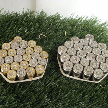 50 Bullet Casings Steampunk Art Supplies by ShellsNStuff on Etsy
