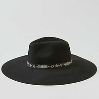 AEO Corded Wide Brim Hat, Black