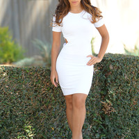 Alana Dress Hollywood Fresh - Ivory