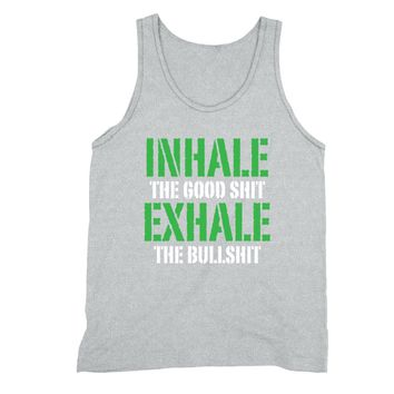 XtraFly Apparel Men's Inhale Good Shit Exhale  Tank-Top